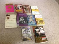 Fiction books. Very good condition.