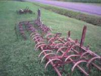 For sale are 3 field drags. 1st is 12' wide $150. 2nd