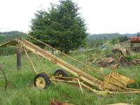 Hay elevator, solid built, adjustable height. call