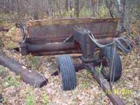 For sale a fieldmaster field scraper. It does need a