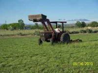 I have a tractor with a brush hog mower, front end