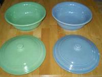 I am selling my Retired Fiesta Ware, Perriwinkle, Sea