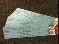 Have 3 tickets for sale they are for June 18,2013