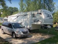 2003 SIERA FIFTH WHEEL with 1 slide out located on 2