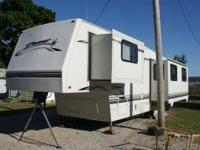 1998, 34' Four Seasons Dreamer Fifth wheel with two
