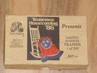 "A ""Tennesse Home Coming '86"" Limited edition "" Fightn'"