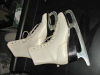 I have a variety of ladies and men's ice skates. They