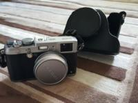 Practically new Fujifilm x100s. It's a valuable camera,