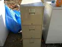 3 door file cabinet good condition $50  Location: