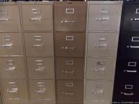 FILE CABINETS: We have a variety of Metal File Cabinets