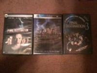 FOR SALE: 3 DVDs!!! Final Destination, Final