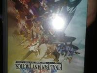Selling Final Fantasy Tactics: War of the Lions for