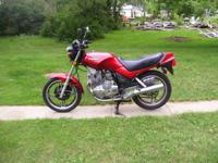 I am offering my NICE Classic 1982 Yamaha Seca 400 for