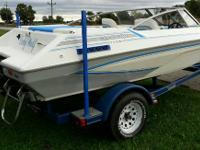 Beautiful condition 92 Glastron 18ft open bow pleasure
