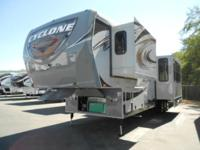 Stock Number: 722856. 2013 Heartland Cyclone 4100 KING