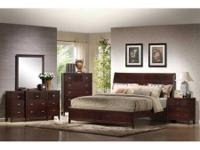 NEW 5PC KING BEDROOM SET $1179  KING PILLOW TOP