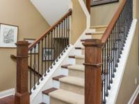 Spacious Carmel home is immaculate! Upon entry guests