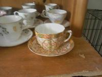 I have 18 fine bone china tea cups I am looking to