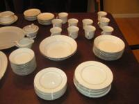 Fine China Set. 80 pieces total. Wakefield Pattern 364.