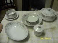 This is a 13 piece set of china, on the back it says