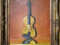 La vie Immobile du Violon (Still Life of Violin):