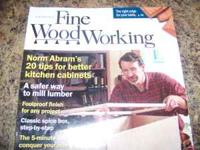 FINE WOOD WORKING MAGAZINE VOLUME'S 2003 161-166 2004