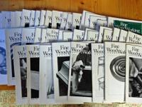 I have 48 early issues of Fine Woodworking publication