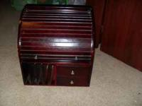 Wooden Jewelry Organizer is in excellent condition. All