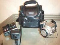 Finepix 4900 camera w/following extras Comes with