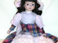 Fingerhut Musical Doll ~ plays Edelweiss Year unknown ~