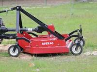 RDTH60 Bushhog Finish mower...5 ft...with 4 hours