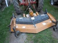 Finish Mower in great shape. KingKutter 6 Ft., 3-point.