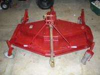 For sale a 5 Ft. finish mower PTO drive. Mower is not