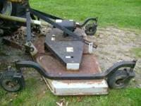 Douglas 6 ft. finish mower for 3 point with side