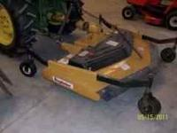 King Kutter 60'' Rear Discharge Finish Mower. Perfect