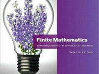 i have a finite mathematics book for business and