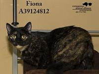 Fiona's story All cats in the adoption program are