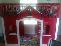We do not have room for our son's fire house bunk bed.