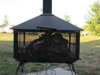 For Sale: Heavy duty LDJ Fire Pit on wheels. Made and