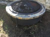 Fire Pit in good condition. Never been used. A couple