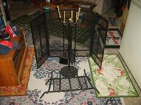 have fire place accessories never been used call or
