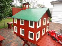 Vintage Carpenter built Fire Station / Fire House