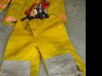 Fire Fighter suit made by Globe $125 each or $200 for
