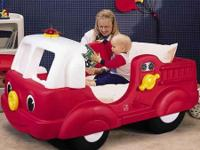 I have a Little Tykes toddler fire engine bed for sale