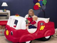 searsoutlet.com toddlers Fire Truck bed with bed