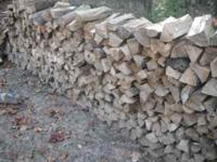 Fire Wood, split, shortbed pickup truck load, red oak,