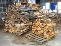 FIRE WOOD FOR SALE AT BROWN FEED & SEED. ~1/2 RACK