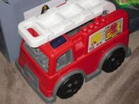 "BIG Fire truck.. 14"" tall, 18 long and 10"" 1/2"