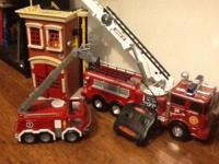 For your little fire fighter ... Firehouse, fire truck