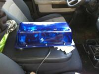 I have 2 high intensity halogen blue lights 205